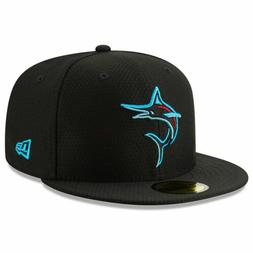 Mens New Era MLB 2019 Batting Practice 59FIFTY Fitted Miami