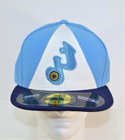 New Era 2014 MLB Tampa Bay Rays TB Retro Road 59FIFTY Fitted