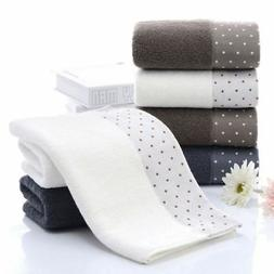2pcs towels set bamboo fiber face hand
