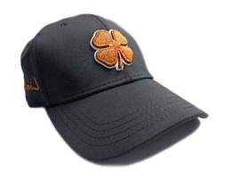 NEW Black Clover Premium Clover 35 Black/Orange Fitted S/M G