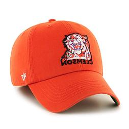 '47 NCAA Clemson Tigers Franchise Fitted Hat, Orange 2, XX-L