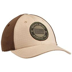 5.11 Downrange 2.0 Tactical Cap USA Bundle - Large/XL - Tan
