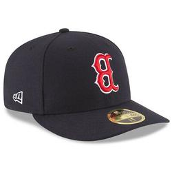 New Era 5950 Boston Red Sox GAME Low Profile Fitted Hat  MLB