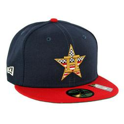 "New Era 5950 Houston Astros ""July 4th 2019"" Fitted Hat  Men'"