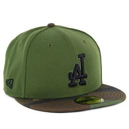 New Era 5950 Los Angeles Dodgers Fitted Hat  Mens Cap