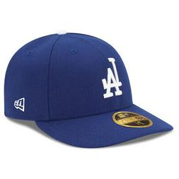 New Era 5950 Los Angeles Dodgers GAME Low Profile Fitted Hat