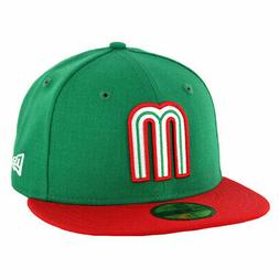 New Era 5950 Mexico National Baseball Team Fitted Hat  Men's