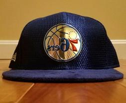 NEW ERA 5950 PHILADELPHIA 76ERS Fitted HAT SIZE 7 5/8 NEW NB