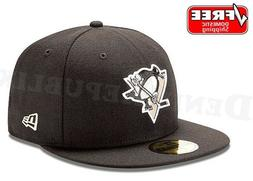 NEW ERA 5950 PITTSBURGH PENGUINS Team Black National Hockey