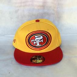 New Era 5950 SAN FRANCISCO 49ERS Embroidered Logo Hat Cap Fi