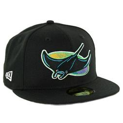"""New Era 5950 Tampa Bay Rays """"Coop Wool 1998"""" Fitted Hat  Men"""