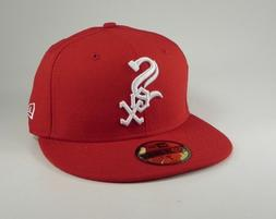 New Era 59Fifty Cap Fitted MLB Chicago White Sox Red White C