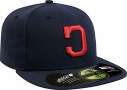 New Era 59FIFTY Cleveland Indians 2016 Road Fitted Cap  Men'