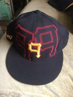 NEW ERA 59FIFTY FITTED HAT/CAP. PIRATES. 7 3/8 NWoT See Desc