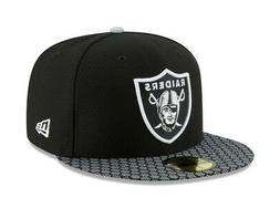 59fifty hat oakland raiders nfl 2017 on