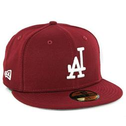 New Era 59Fifty Los Angeles Dodgers Fitted Hat  Men's MLB Bu