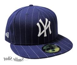 New Era 59Fifty NEW YORK YANKEES Men's Fitted Cap Navy White
