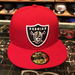 59fifty oakland las vegas raiders fitted hat