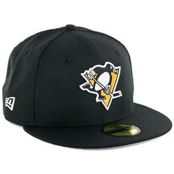 59fifty pittsburgh penguins fitted hat black men