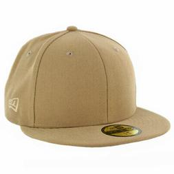New Era 59Fifty Plain Tonal Fitted Hat  Men's Blank Work Uni