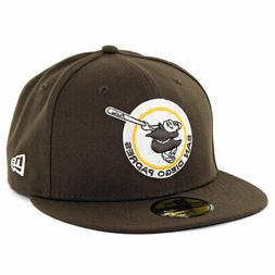 "New Era 59Fifty San Diego Padres ""Brown Gold Friar"" Fitted H"