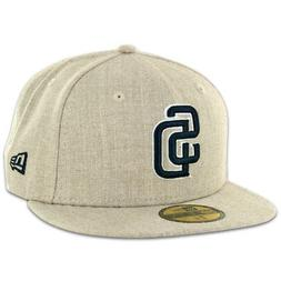 New Era 59Fifty San Diego SD Padres Fitted Hat  Men's MLB Ca