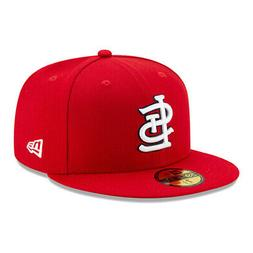 59fifty st louis cardinals game fitted hat