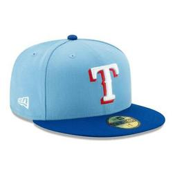 New Era 59Fifty Texas Rangers ALTERNATE 2 Fitted Hat  Cap