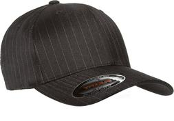6195P Flexfit Pinstripe Fitted Baseball Blank Plain Hat Ball