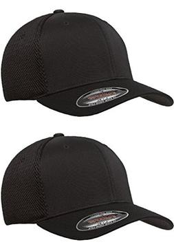Flexfit 6533 Ultrafibre & Airmesh Fitted Cap, 2pack  - Large