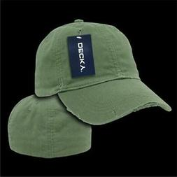 Decky 860-PL-OLV-04 Vintage Fitted Polo Caps Military Green