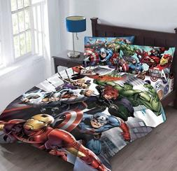 Marvel Avengers Agents of Shield Twin Comforter Set with Fit