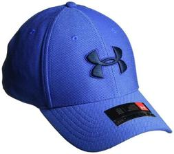 Under Armour Accessories Mens Heathered Blitzing 3.0 Cap- Pi