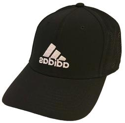 Adidas Adizero Stretch Fit Climalite Black Mesh Hat Cap : Si