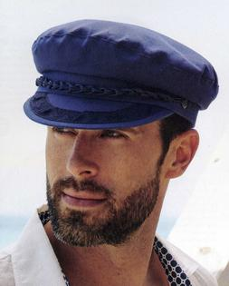 Aegian Men's Real Greek Import Fisherman Sailing Cotton Cap