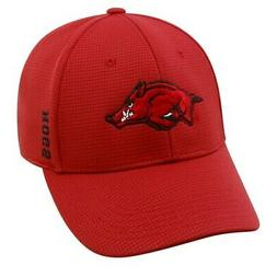 """Arkansas Razorbacks NCAA TOW """"Booster"""" Memory Fitted Hat"""