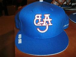 ATLANTA BLACK CRACKERS NEGRO LEAGUE FITTED TEAM BASEBALL BLU