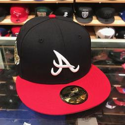 New Era Atlanta Braves Fitted Hat 1995 World Series  Patch M