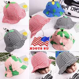 Baby Sun Hat Newborn Boy Girl Toddler Cotton Summer Cap Fit