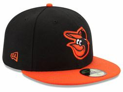 New Era Baltimore Orioles ROAD 59Fifty Fitted Hat  MLB Cap