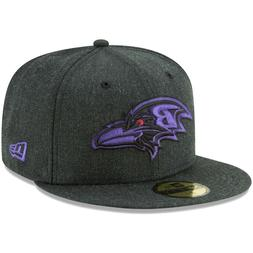 New Era BALTIMORE RAVENS Heathered Black Bold 59FIFTY Fitted