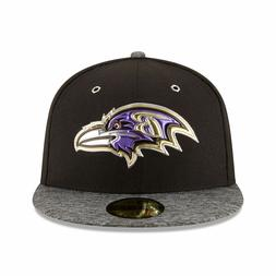 Baltimore Ravens New Era NFL Draft On Stage Fitted Flat Bill