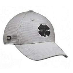 Black Clover BC Iron 6 Hat Fitted Baseball Cap Grey/Black -