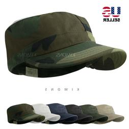 BDU Fitted Army Cadet Military Cap Hat Patrol Castro Combat