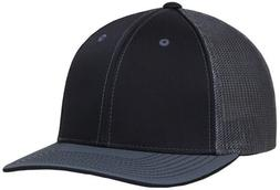 Pacific Headwear Blank Fitted 404M Trucker Hat Mesh Embroide