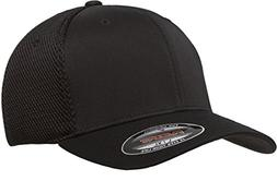 Flexfit Men's Ultrafibre Airmesh Fitted Cap | Stretch Fit Ba