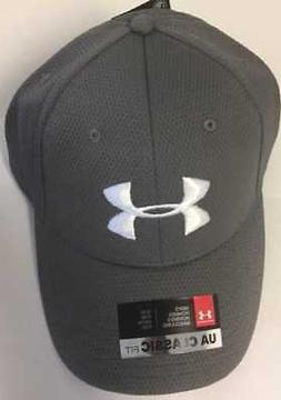 Under Armour Blitzing Hat Mens Fitted Cap Graphite Size S/M