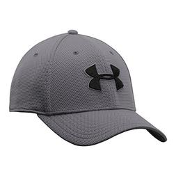Under Armour Men's Blitzing II Stretch Fit Cap, Graphite /Bl