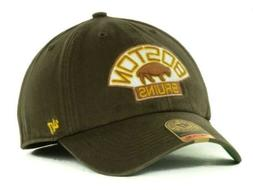 Boston Bruins '47 Brand Vintage Logo Franchise Fitted Hat -