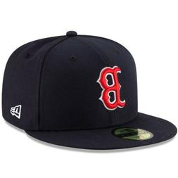 New Era Boston Red Sox 59Fifty Fitted Hat  MLB Cap